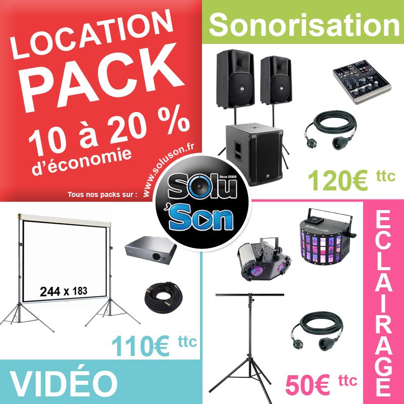 Location pack sonorisation